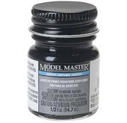 Testors (TES) 704- 4888 Engine Black Flat Acrylic 1/2 oz