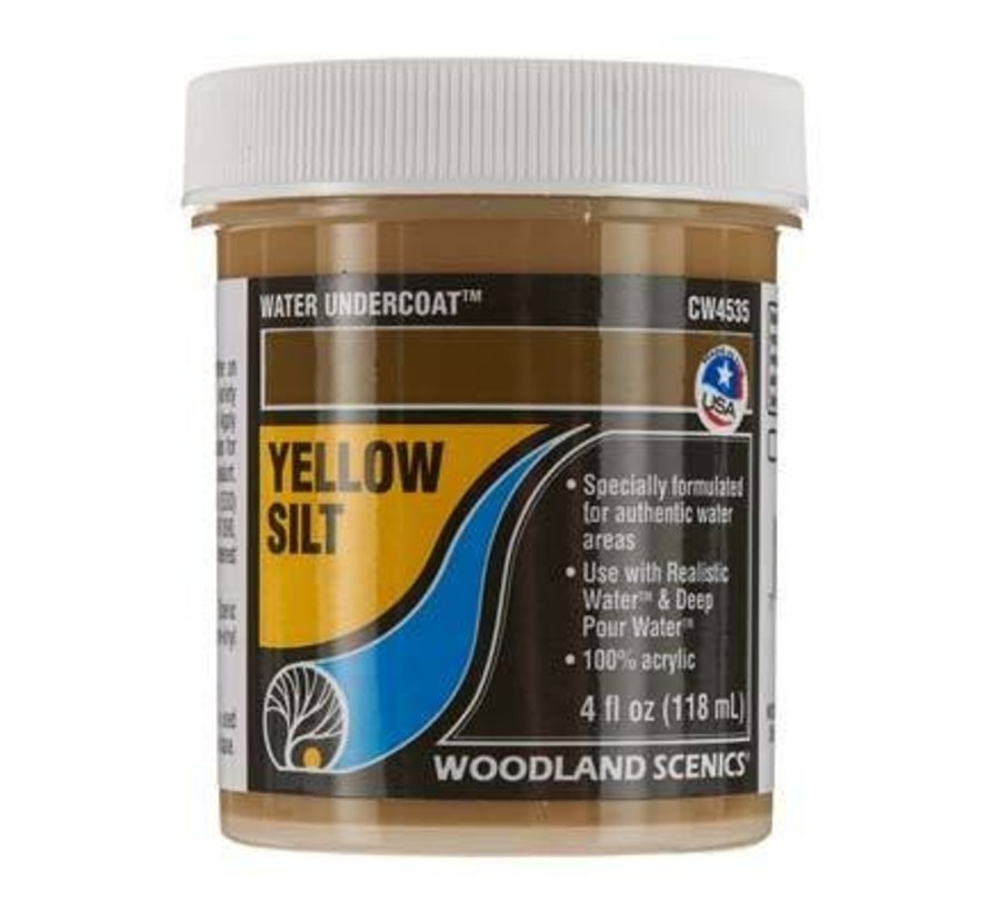 CW4535 Water Undercoat Yellow Silt