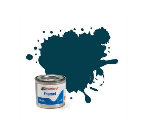 Humbrol - HMB AA1822 PRU Blue  Enamel, 14ML, Matt, Shade 230