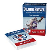 Games Workshop -GW BLOOD BOWL DARK ELF TEAM CARD PACK