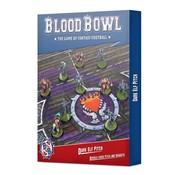 Games Workshop -GW BLOOD BOWL: DARK ELF PITCH & DUGOUTS