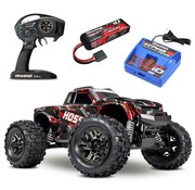 Traxxas (TRA) 90076-4-SRED HOSS 4X4 VXL 3S - SHADOW RED