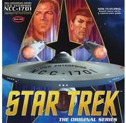 Polar Lights (PLL) STAR TREK TOS ENTERPRISE NCC-1701 50TH ANNIVERSARY EDITION 1:350 SCALE MODEL KIT