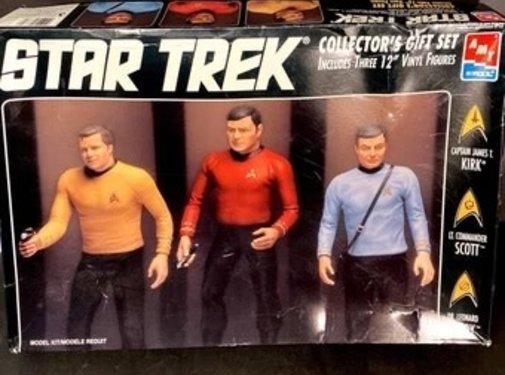 AMT Models (AMT) Star Trek Collector's Gift Set 12-inch Figures Kirk Scott McCoy, Model AMT