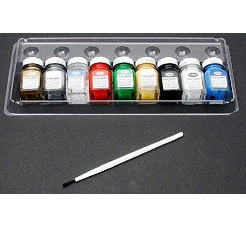 Testors (TES) 704- 9146XT All-Purpose Gloss Enamel 8 color St