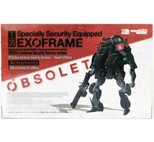 Good Smile Company G13922 MODEROID 1/35 PMC CERBERUS SECURITY SERVICES EXOFRAME