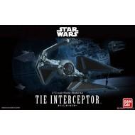 BANDAI MODEL KITS 1/72 Tie Interceptor Star Wars