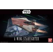 BANDAI MODEL KITS 1/72 A-Wing Starfighter Star Wars