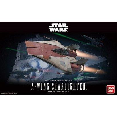 BANDAI MODEL KITS 206320 1/72 A-Wing Starfighter Star Wars