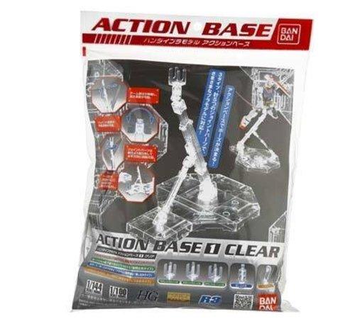 BANDAI MODEL KITS 5057417 1/100 Clear Display Stand Action Base I