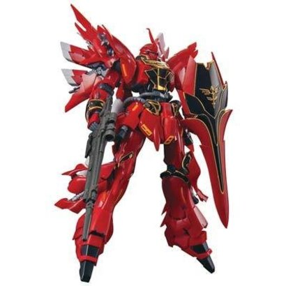 BANDAI MODEL KITS 207590 #22  MSN-06S Sinanju Gundam UC RG 1/144