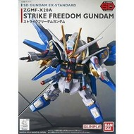 BANDAI MODEL KITS EX-Standard Strike Freedom Gundam SD