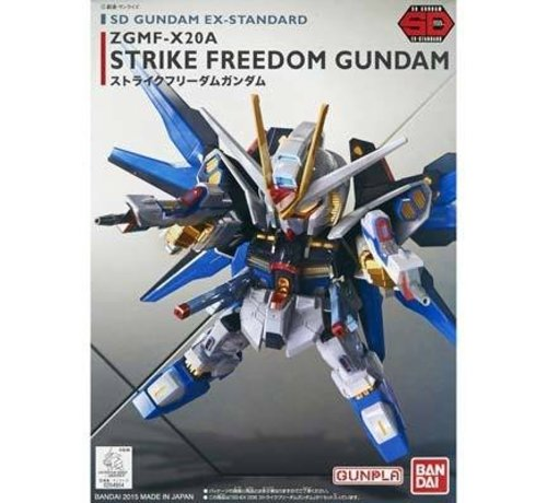 BANDAI MODEL KITS S5057967 EX-Standard Strike Freedom Gundam Seed Destiny