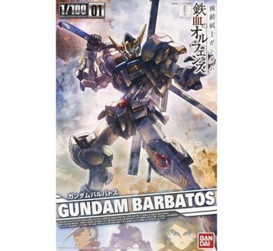 """201886 #01 Gundam Barbatos """"Gundam IBO"""" Bandai IBO 1/100"""