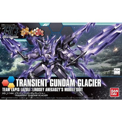 BANDAI MODEL KITS 5055443 HGBF 1/144 Transient Gundam Glacier Honoo Try