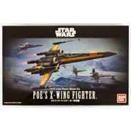 BANDAI MODEL KITS 1/72 Poe's X-Wing Fighter Star Wars
