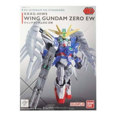 BANDAI MODEL KITS 202754 SD EX-Standard Wing Gundam Zero Ver EW