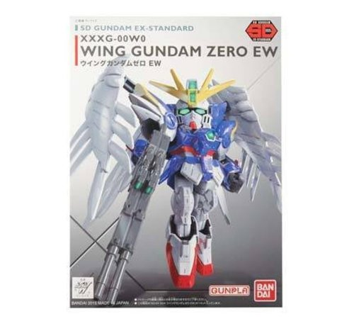 BANDAI MODEL KITS 5057600 SD EX-Standard Wing Gundam Zero Ver EW