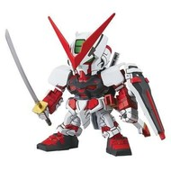 BANDAI MODEL KITS 007 Gundam Astray Red SD