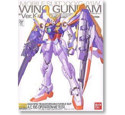 "BANDAI MODEL KITS 123714 Wing Gundam Ver. Ka ""Gundam Wing: Endless Waltz"" Bandai MG 1/100"