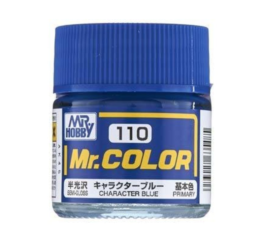 C110 Semi Gloss Character Blue 10ml
