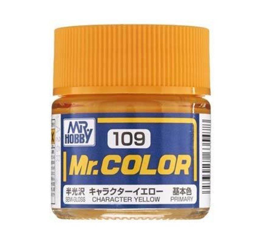 GNZ-C109 Semi Gloss Character Yellow 10ml