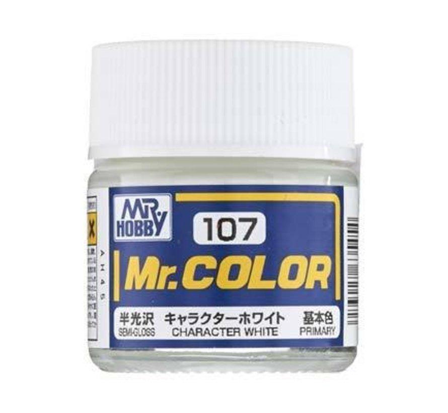 GNZ-C107 Semi Gloss Character White 10ml