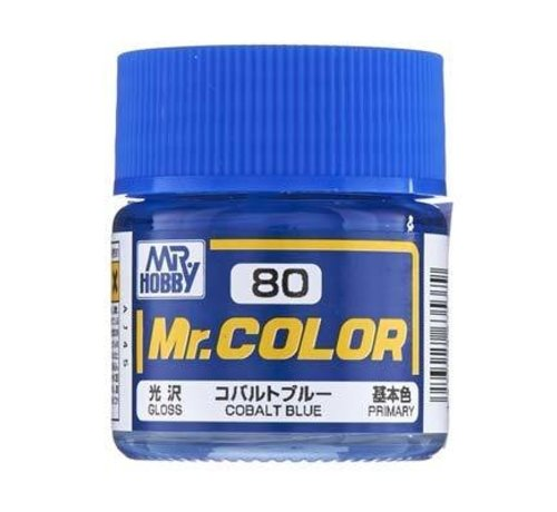 Mr. Hobby GSI - GNZ C80 Semi Gloss Cobalt Blue 10ml
