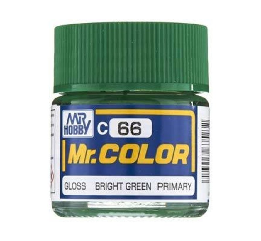 GNZ-C66 Gloss Bright Green 10ml