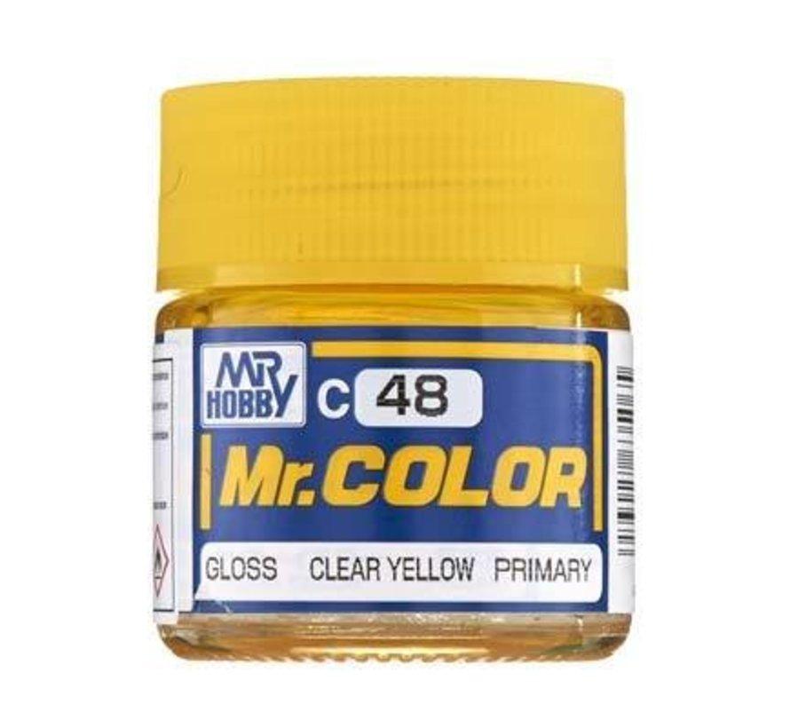 C48 Gloss Clear Yellow 10ml