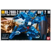 BANDAI MODEL KITS #77 RX-78BD-2 Blue Destiny Unit 2, HGUC