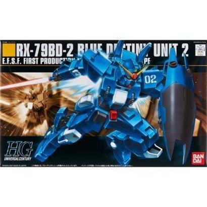 BANDAI MODEL KITS 149254 #77 RX-78BD-2 Blue Destiny Unit 2, HGUC