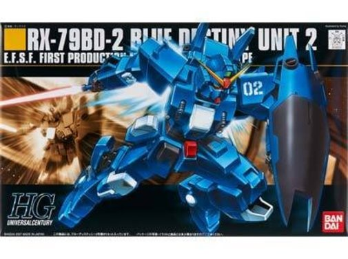 Bandai #77 RX-78BD-2 Blue Destiny Unit 2, HGUC