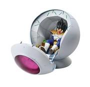 BANDAI MODEL KITS Saiyan Space Pod Dragon Ball Z Fig-Rise Mechanic
