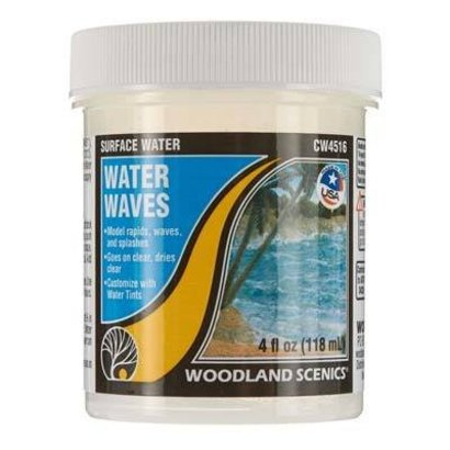 WOO - Woodland Scenics 785- CW4516 Surface Water Water Waves