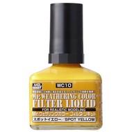 GNZ-Gunze Sangyo Filter Liquid Yellow GSI, Mr. Weathering Color
