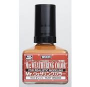 Mr. Hobby GSI - GNZ Rust Orange GSI, Mr. Weathering Color