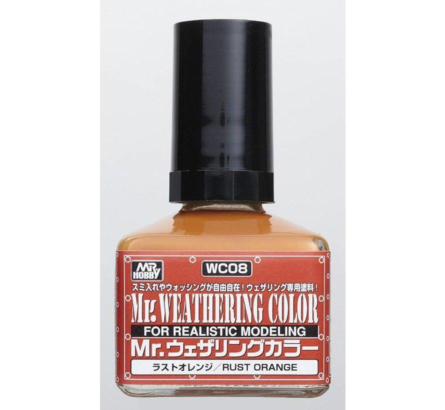 WC08 Rust Orange GSI, Mr. Weathering Color Paint