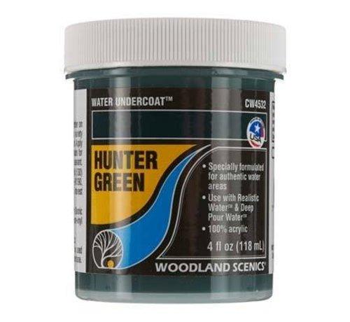 WOO - Woodland Scenics 785- CW4532 Water Undercoat Hunter Green
