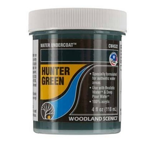 Woodland Scenics (WOO) 785- CW4532 Water Undercoat Hunter Green