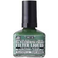 GNZ-Gunze Sangyo Filter Liquid Green GSI, Mr. Weathering Color