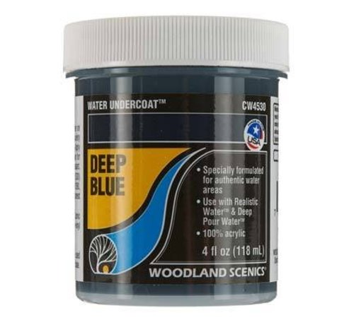 Woodland Scenics (WOO) 785- CW4530 Water Undercoat Deep Blue