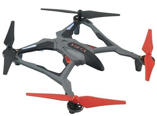 Dromida (DID) E03RR Vista UAV  RED Quadcopter RTF