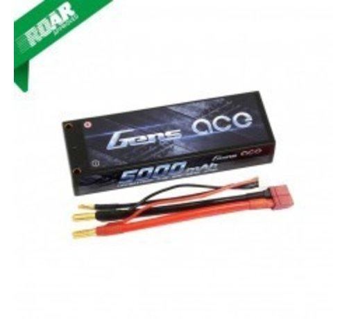 Gens ace Gens ace 5000mAh 7.4V 50C 2S1P HardCase Lipo Battery Pack 10#