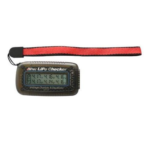 Hitec (HRC) 44173 Lipo Battery Voltage Checker and Balancer