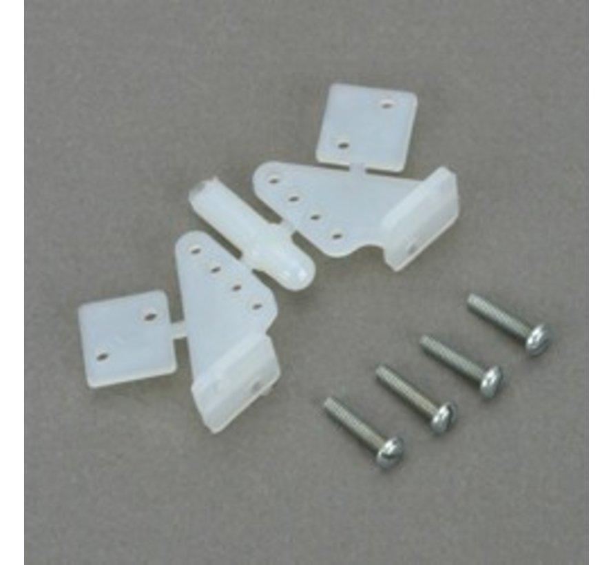 107 Control Horn Nylon 1/2A (2)