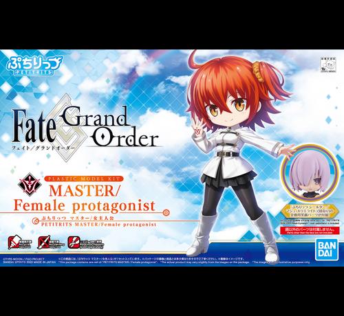 "Bandai 5059009 #04 Master/Female Protagonist ""Fate/Series"", Bandai Spirits Petitrits"