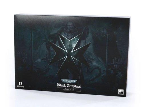 Games Workshop -GW BLACK TEMPLARS ARMY SET