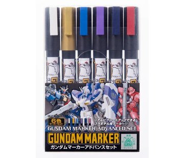Mr. Hobby GSI - GNZ GMS124 Gundam Marker Advanced Set