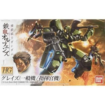"BANDAI MODEL KITS 201874 #02 Graze Standard/Commander Type ""Gundam IBO"" Bandai HG IBO"